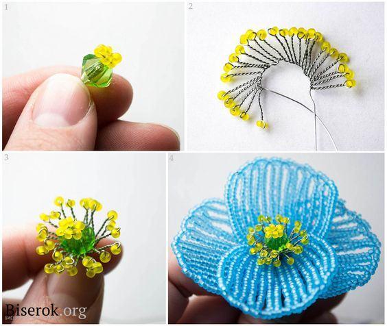 Tự làm hoa phong lan hạt cườm đẹp không thể chê