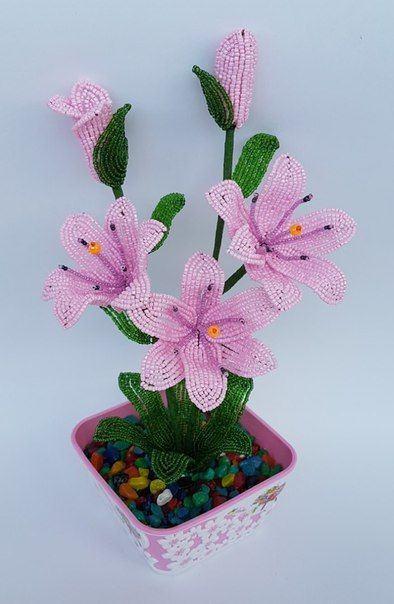 Bạn đã biết cách làm hoa ly hạt cườm chưa
