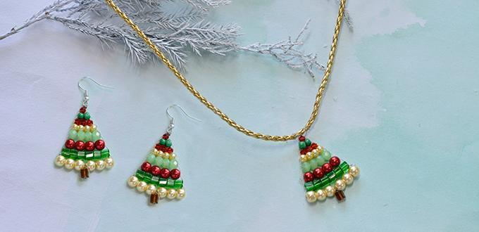 Bộ trang sức cây thông cho Giáng Sinh