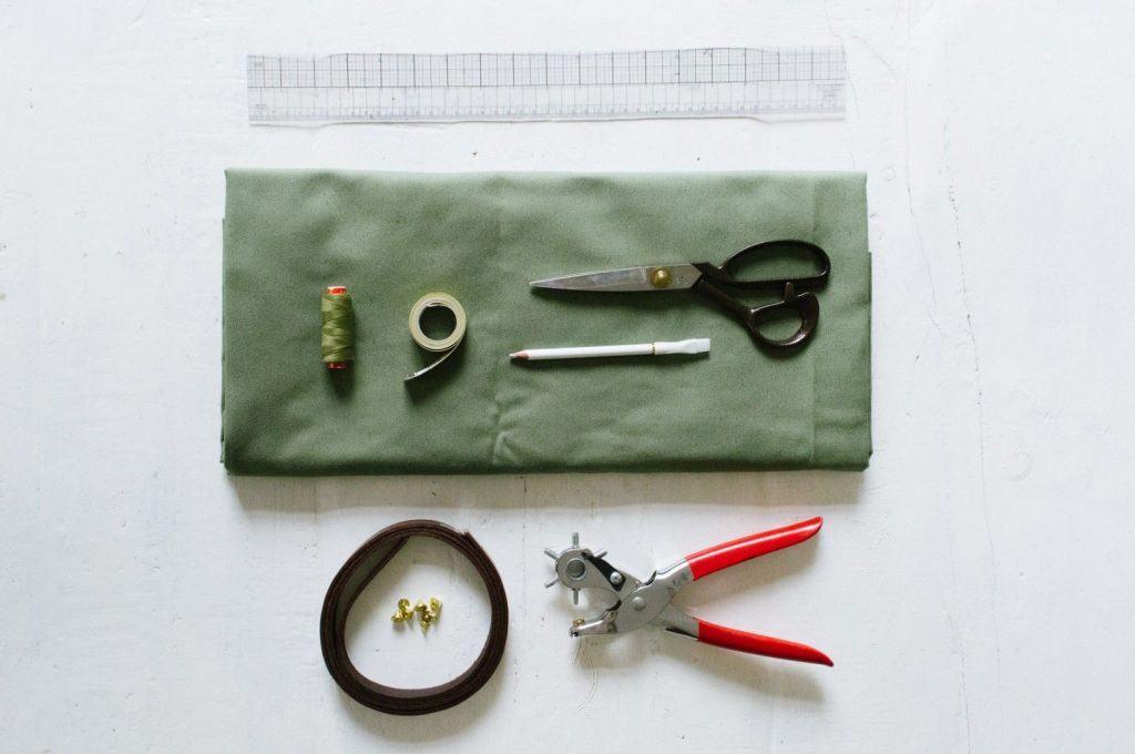 Nguyên vật liệu làm túi tote handmade (Nguồn: Internet)