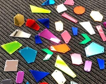 Đá gương có nhiều loại với màu sắc, kích thước khác nhau (Nguồn: Internet)