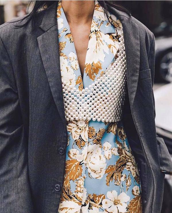 Kết cấu vô cùng độc đáo của áo kết cườm (Nguồn: Internet)