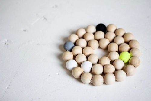 Đây chính là thành phẩm miếng lót handmade từ hạt cườm mà chúng ta có được (Nguồn: Internet)