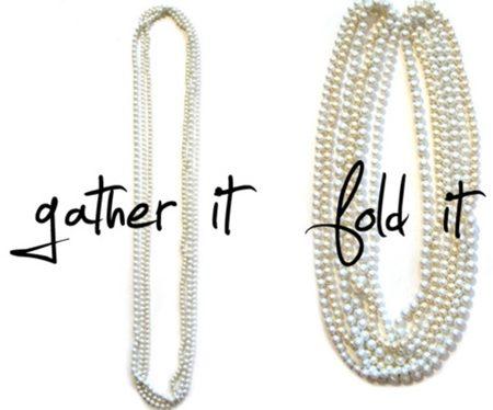 Gấp đôi những chiếc vòng cổ ngọc trai (Nguồn: Internet)